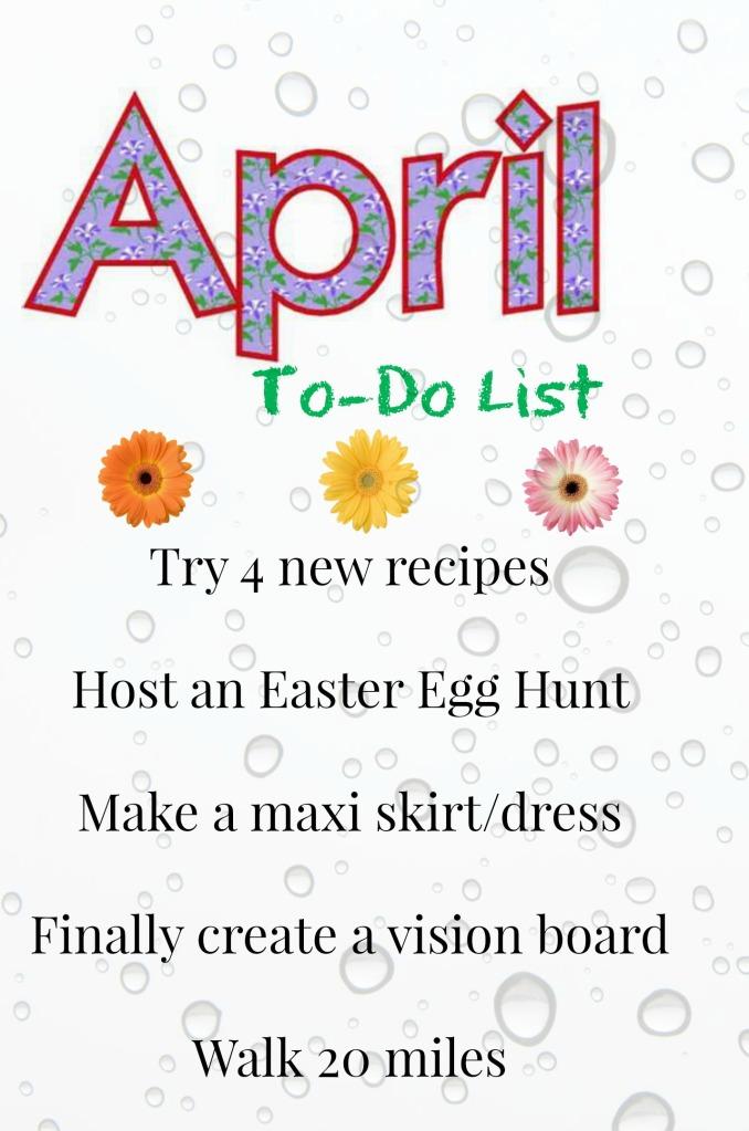 April To Do