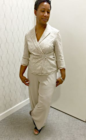 Pant Suit... Not It Either!!!